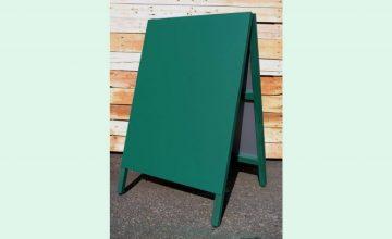 A型黒板スチールグリーン