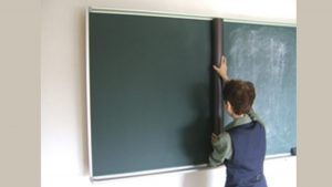 ライテック黒板シート施工