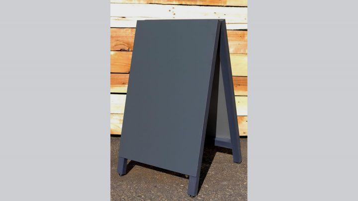 A型黒板スチールブラック