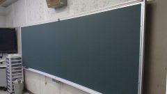 曲面式黒板1