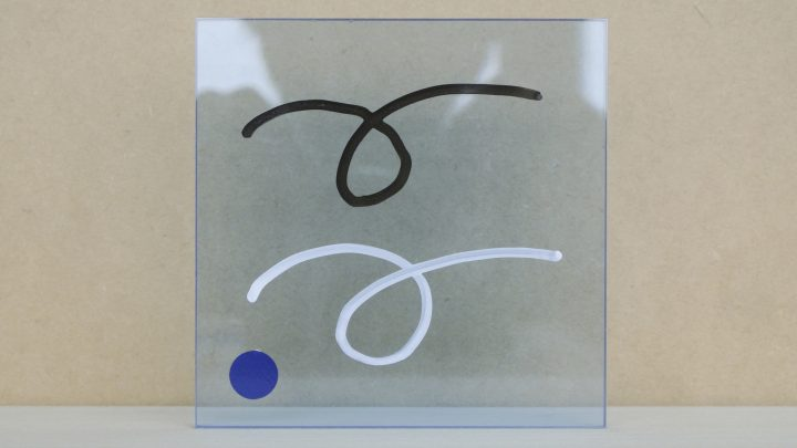 透明ブルー