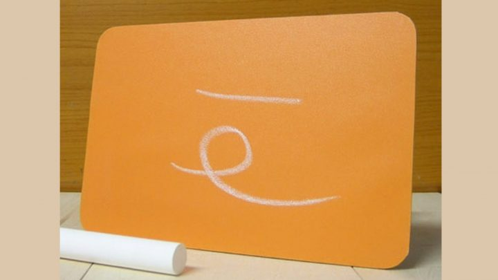 DG黒板・POPオレンジ