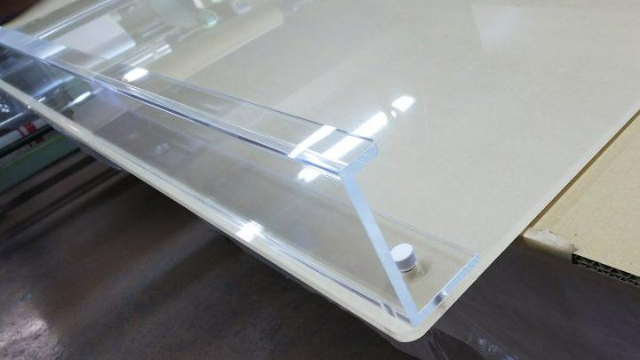 透明ホワイトボード用粉受け1055