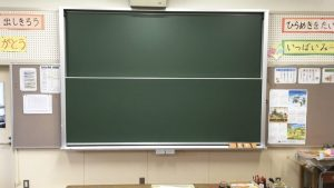 学校用黒板・交換メンテ(春休み)のアイキャッチ画像