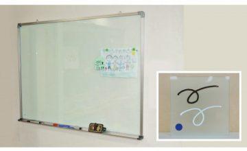 透明ホワイトボード(半透明ガラス色)配置1