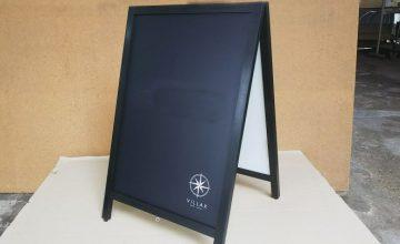 黒板・高級感のあるA型黒板をのアイキャッチ画像