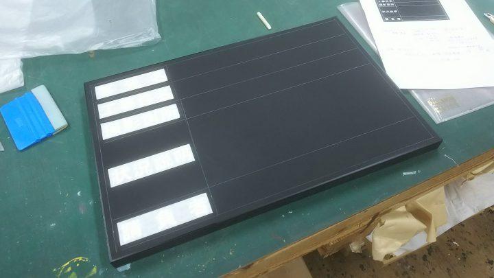 工事用黒板黒2