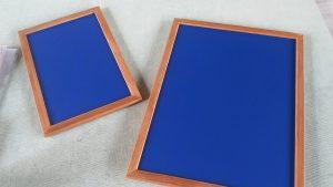 黒板(ブルー)のメニューボードのアイキャッチ画像