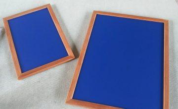 黒板ブルー1